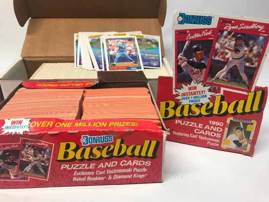 600 +/- Baseball Cards