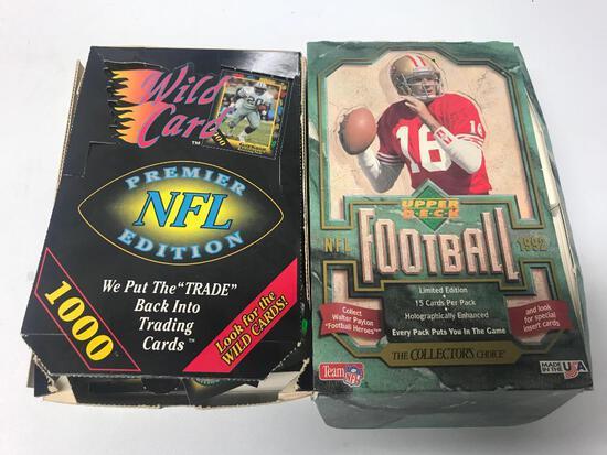 600 +/- Football Cards