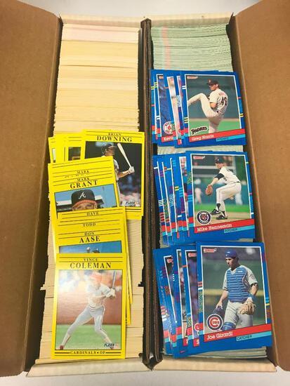 1,500 +/- Baseball Cards