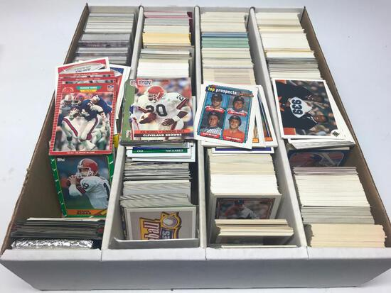 Monster Box Of 1990-1992 Baseball, Basketball, & Football Cards