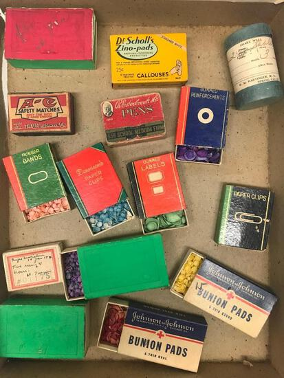 Group Of Small Pill Boxes & Similar Boxes