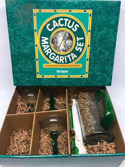 Cactus Margarita Set In Box