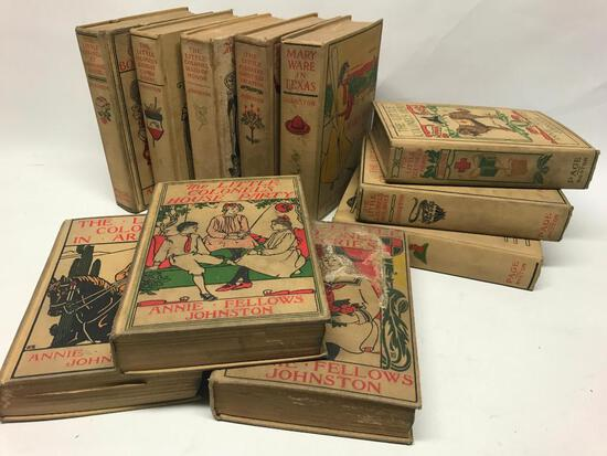 """(11) Volumes Of """"The Little Colonel Stories"""" Novels By Annie Johnston"""