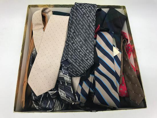 Group Of 70's/80's Era Men's Ties