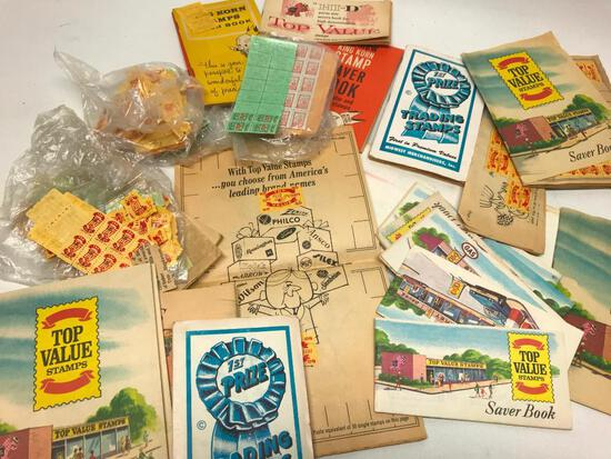 Books Of Vintage Trading Stamps