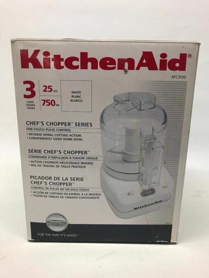 Unused KitchenAid 3-Cup Electric Chopper In Box
