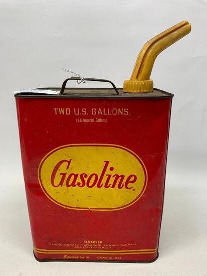 Vintage 2 Gallon Gas Can