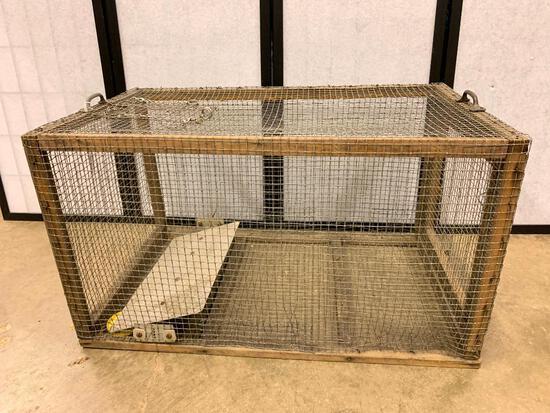Older Animal Cage