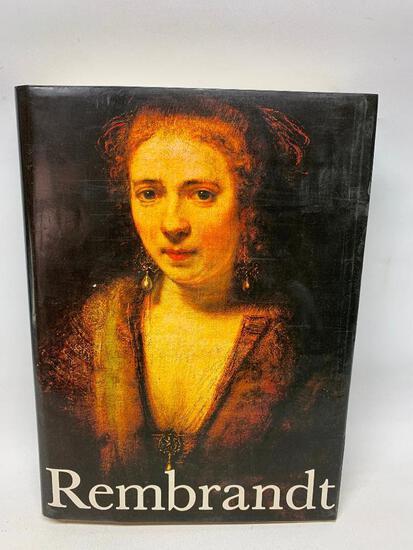 Rembrandt Art Book