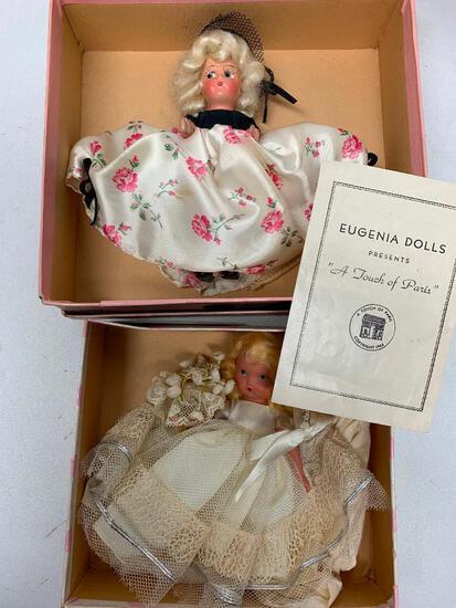 (2) Vintage Eugenia Dolls-Bride & Maid Of Honor