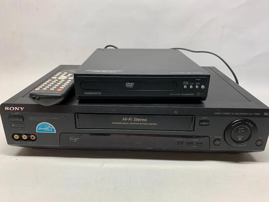Sony VHS Player W/Remote
