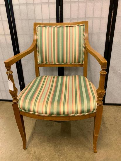 Vintage Wooden Arm Chair