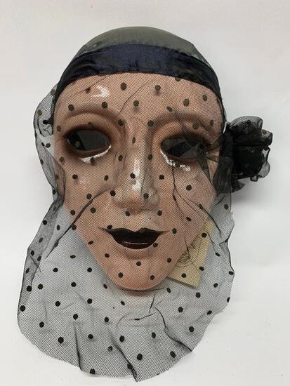 Noble Arts Hand Painted Ceramic Mask