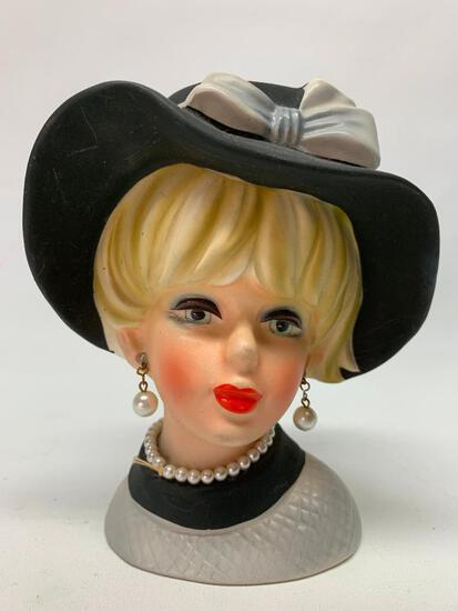 Vintage 1960's Napcoware Head Vase