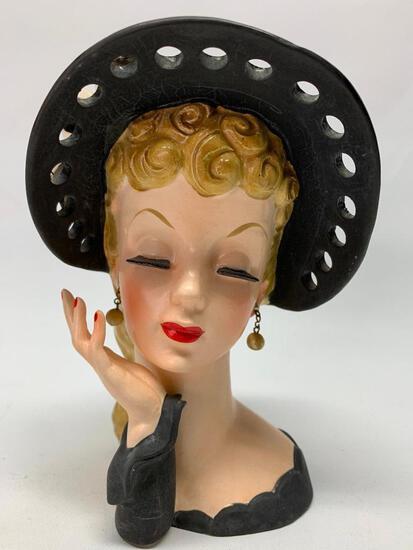Vintage 1959 Napcoware Head Vase