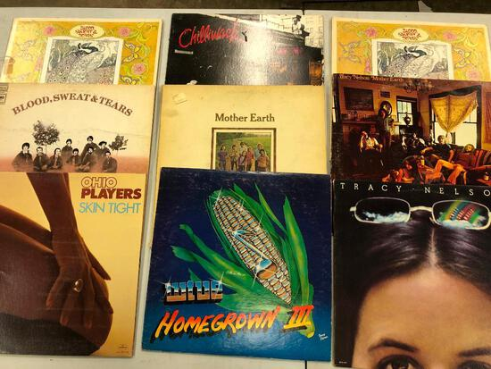 Group of (9) Various Pop/Rock/Soul Records