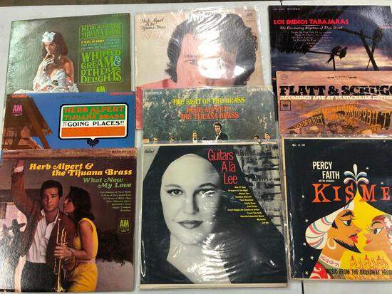 Group of (9) Jazz/Various Records