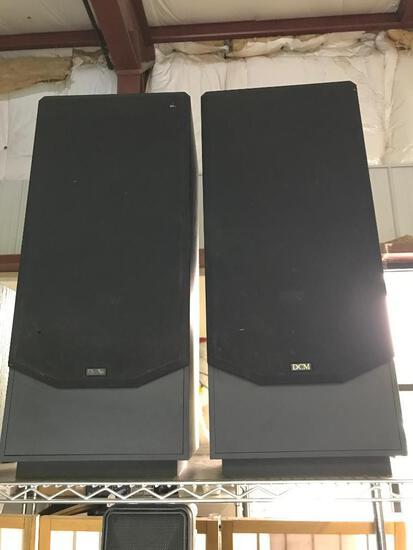 Pair of DCM KX-10, Series Two Speakers