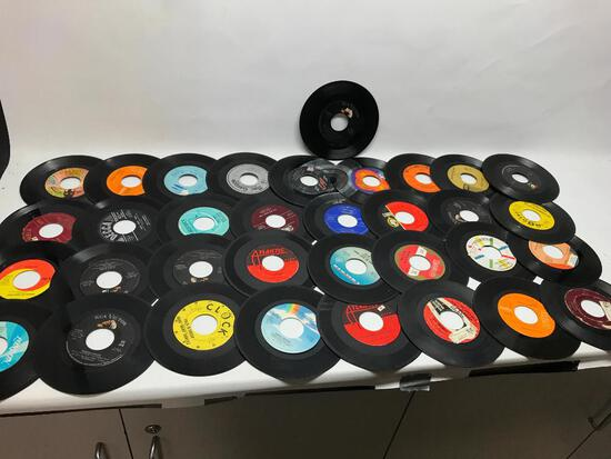 Group of 45 RPM Records!