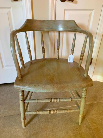 Antique Firehouse Windsor Chair