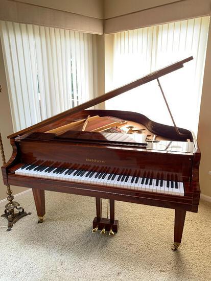 Baldwin Classic Medium Grand Piano In Mahogany