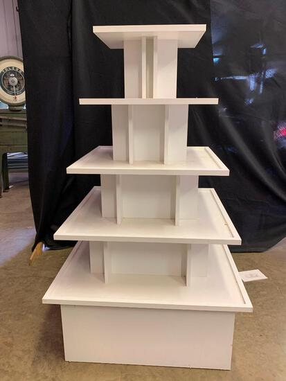 Wooden Multi-Tier Display Stand
