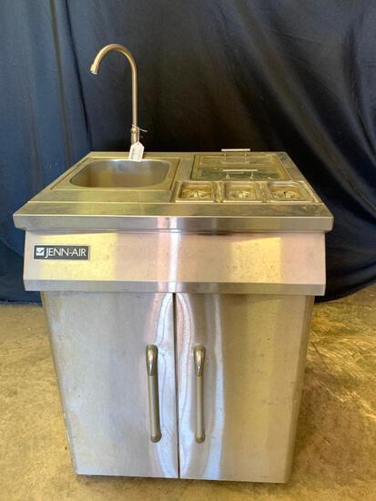 Jenn-Air Model 420-0032 Portable Hand Wash Sink W/Prep Station