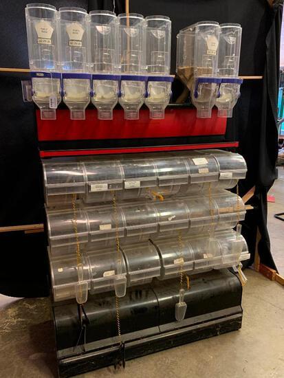 Multi-Bin Dispensing Rack