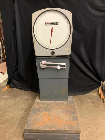 Hobart Commercial Scale, Model 7214, 900lb Capacity