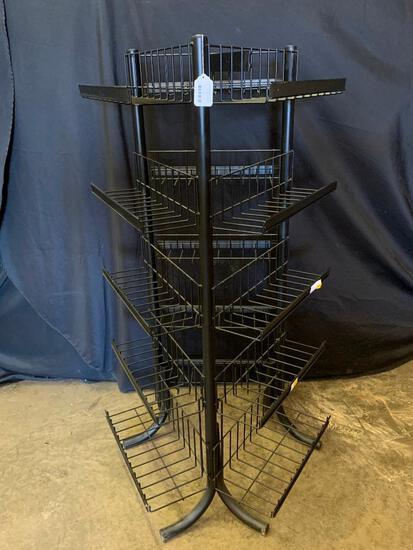Metal Triangular Display Rack