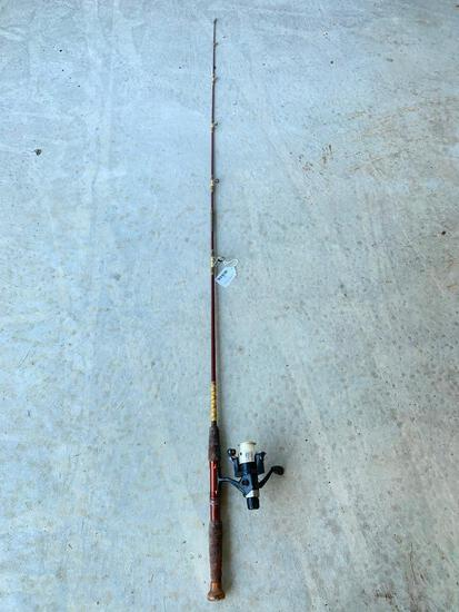 Pinnacle Camlock CLR 35 Reel & Unmarked Rod