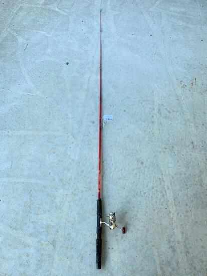 Shakespeare Synergy 200 Reel & Daiwa Rod