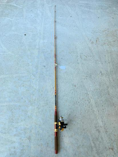 Bass Pro Shops MC10FE Reel & Olympic 2065FG Rod