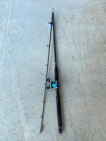 Abu Garcia Ambassadeur 6501C4 Reel & Shimano TDR 2803 Rod