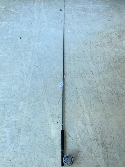 South Bend 1122A Reel & Abu Garcia Kingfisher Rod