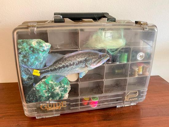 Tackle Box W/Fly Fishing Materials
