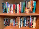 Two Shelves of Mostly Novels