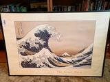Oriental Style Print of Wave
