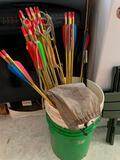 Bucket Of Target Arrows
