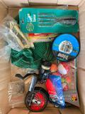 Fishing Group W/Floats, Frog Spear, Trilene, Zoom Bait, Pro-Am Reel, & Hooks