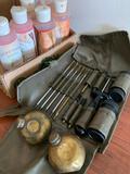 Faulkenberry Juice & Portable Gun Cleaning Kit In Holder