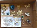 Nice Group Of Jewelry Pins Including