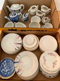Group Of Misc. Child's Tea Sets Incl. Willow Ware Pcs.