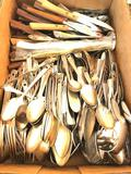 Large Group Of Stainless Flatware