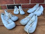 (4) Pair Of Leather Child's Shoes