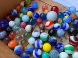 Nice, Nice Group Of Vintage Marbles