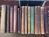 (14) Antique School Books