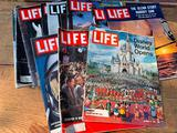 (12) Life Magazines-Mostly 50's & 60's