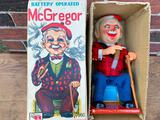 Vintage 1960's Tin Lithograph Battery Operated