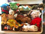 (15) Different Ty Beanie Babies